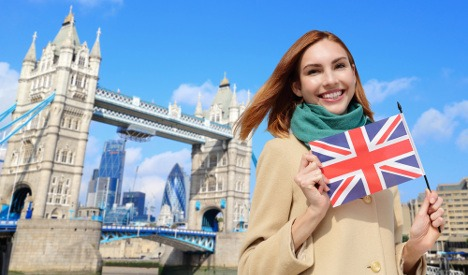 تعلم اللغة الانجليزية في بريطانيا