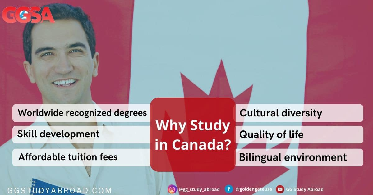 Why study in Canada - Reasons to study in Canada