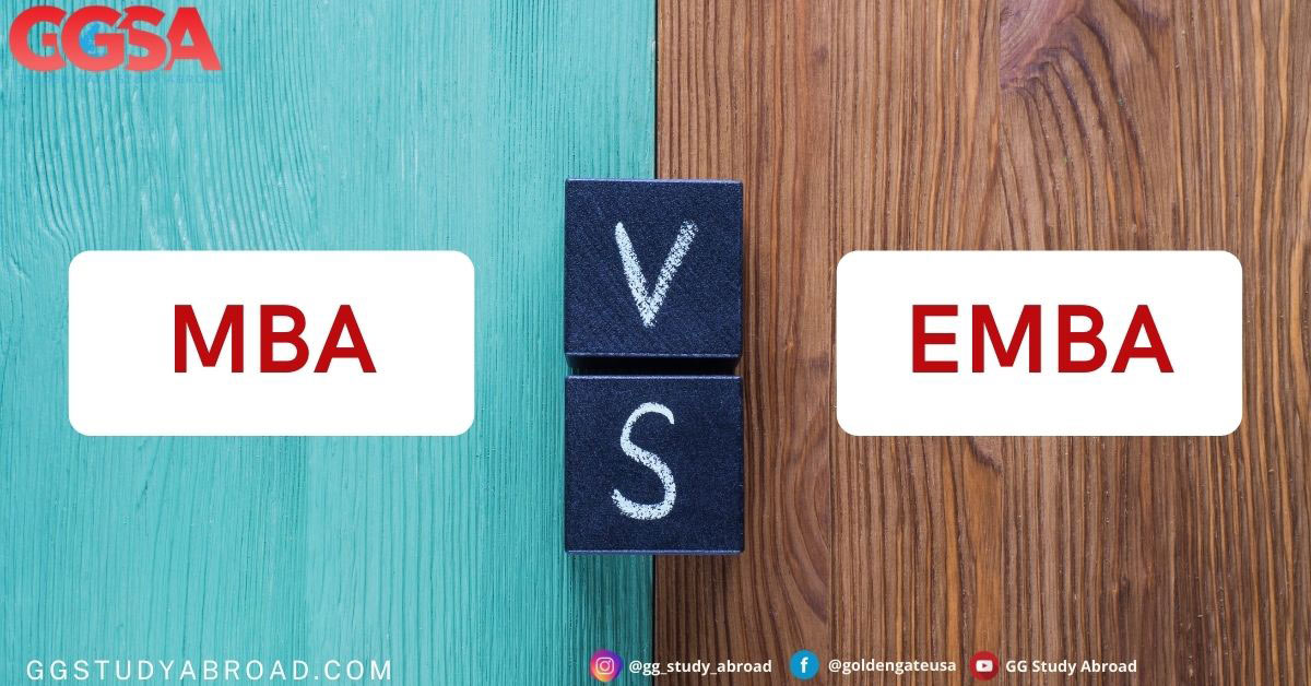 الاختلافات الرئيسية بين ماجسيتر إدارة الأعمال MBA والماجستير التنفيذي في إدارة الأعمال EMBA