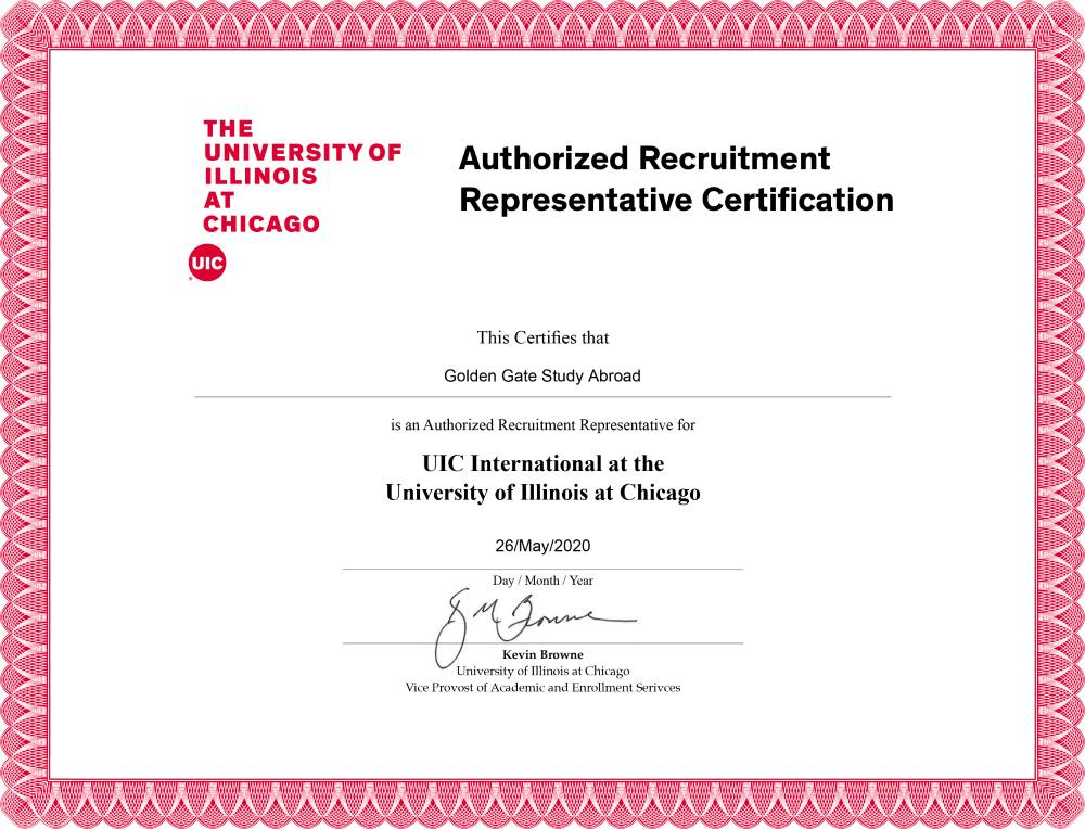 The University of Illinios At Chicago