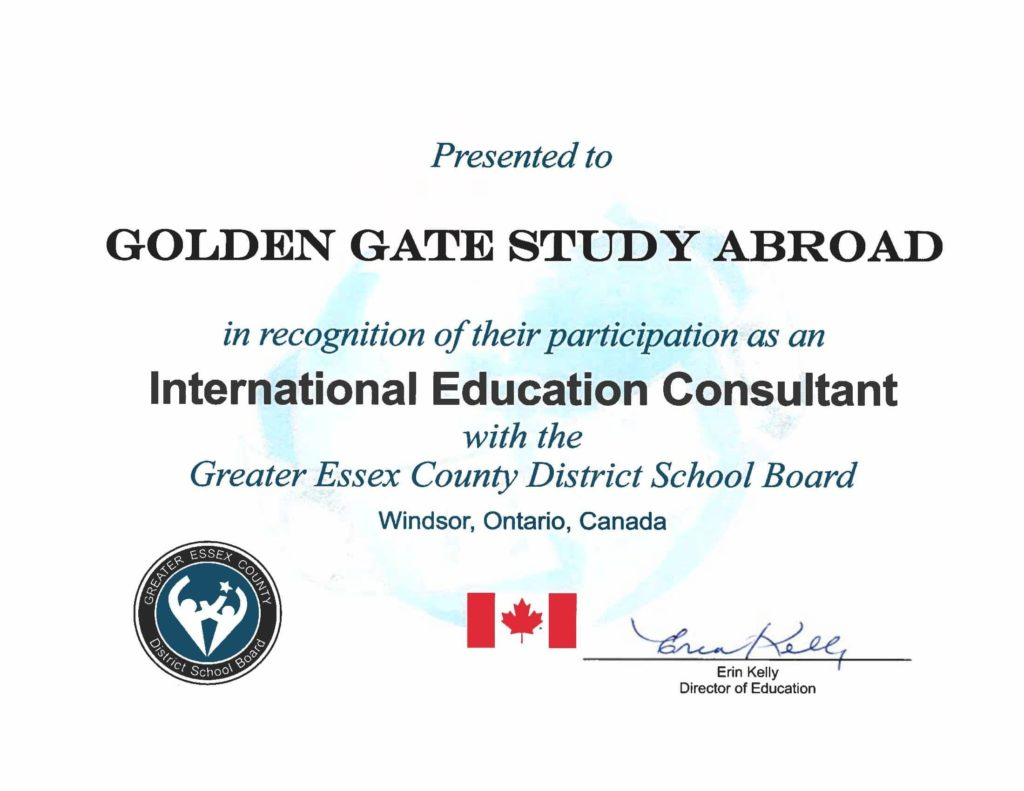 Greater Essex County District School Abroad