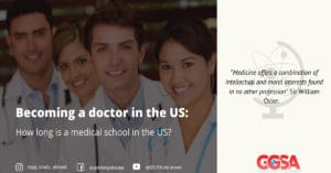 Becoming a doctor in the US - How long is a medical school in the US