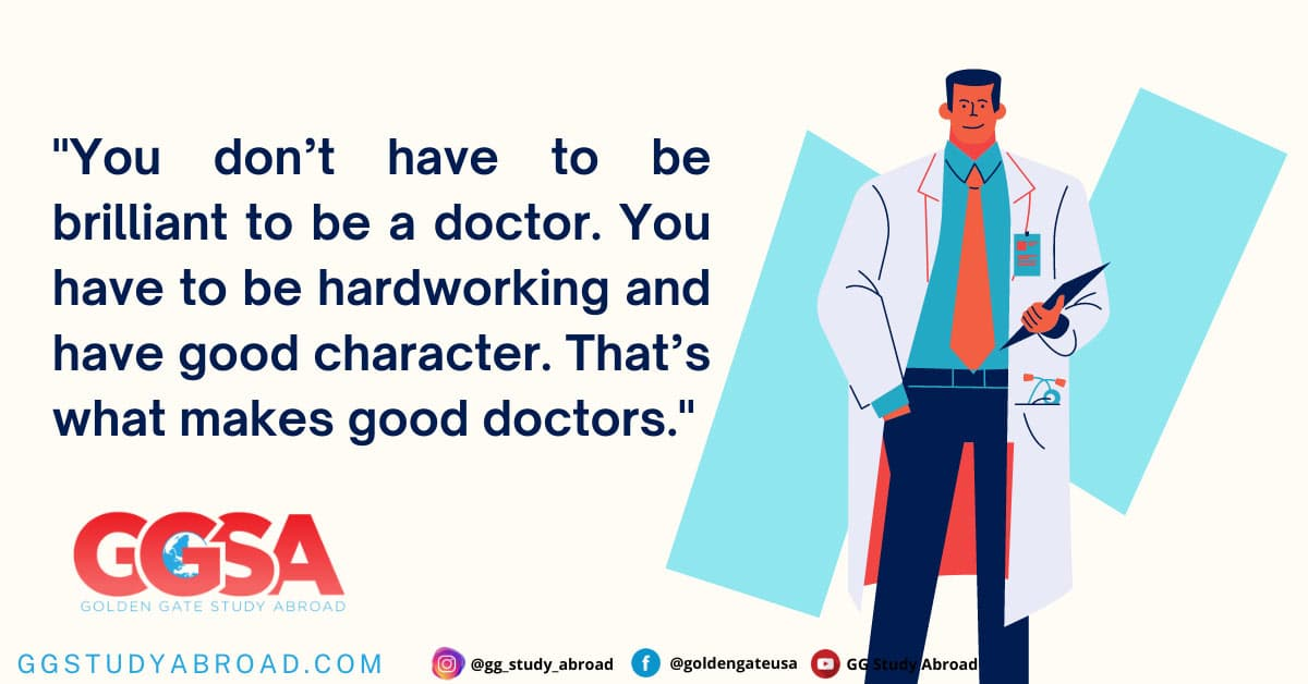Is it hard to become a doctor in the USA